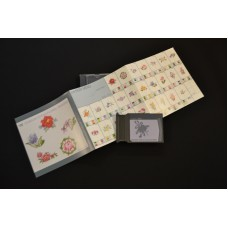 Janome EMB DESIGN CARD #122 - Gobelin Stitch Floral