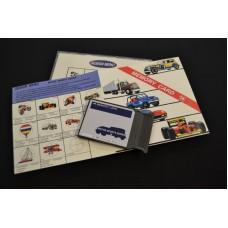 Janome EMB DESIGN CARD #14 Motorsports Series